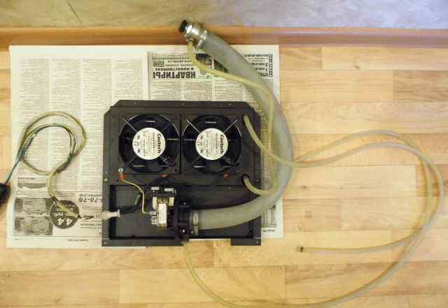 Водоблок (радиатор, вентиляторы, помпа)
