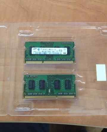 Память samsung ddr3 2gb 2 модуля для macbook
