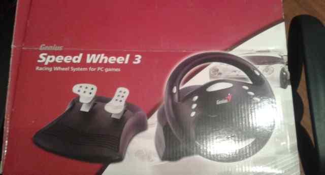 Руль speed wheel 3 для компьютерных игр