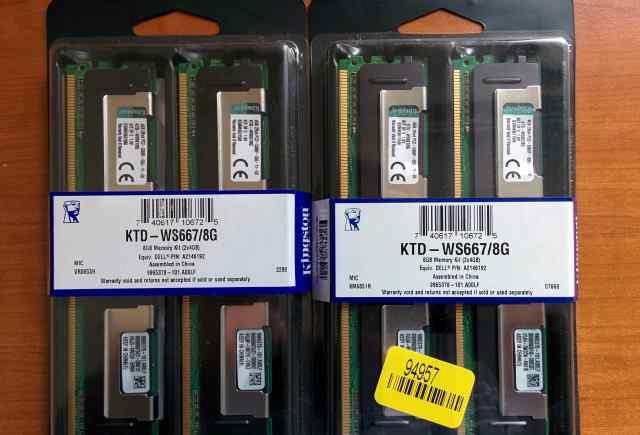 Kingston KTD-WS667/8G Новая
