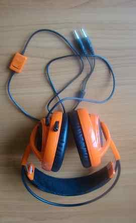 Наушники Steelseries Siberia V2 orange