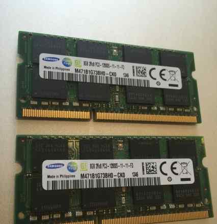 Оперативка для Macbook Pro 16GB Самсунг DDR3