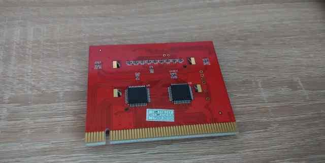 Пост карта PCI для диагностики компьютера