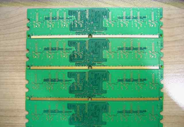 Оперативная память DDR2 4x512MB Kingston
