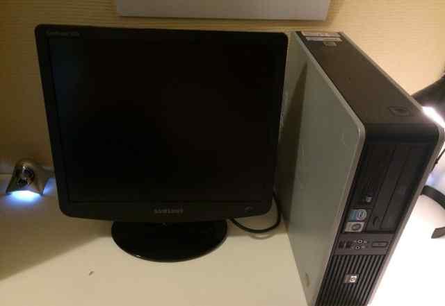 Компактный компьютер HP для дома и офиса