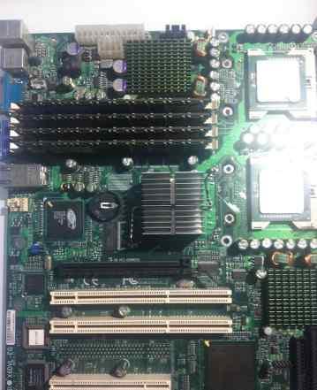 Сервер Супермикро X6DVL-EG2 dual xeon SL7ZG 2800D