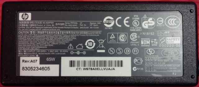 Блок питания HP PA-1650-02HC 18.5V 3.5A
