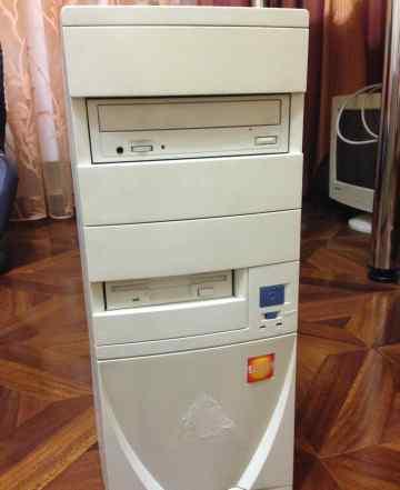 Старый компьютер на Pentium III