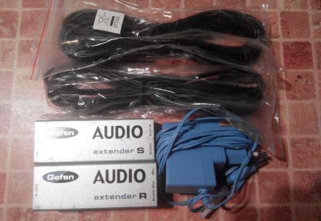 Удлинитель Audio по витой паре EXT-AUD-1000