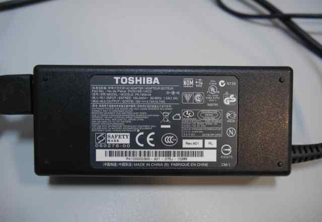 Зарядное устройство для ноутбука Toshiba (адаптер)