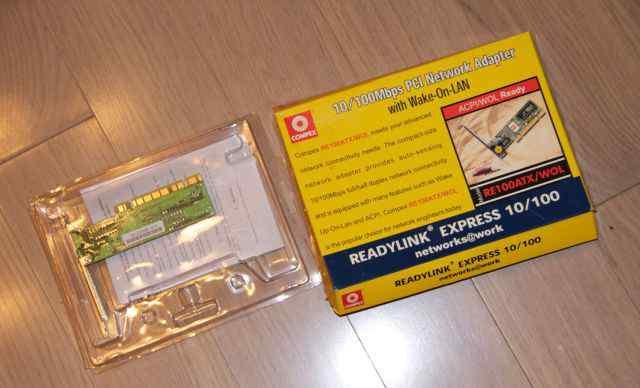 Сетевая карта PCI Compex ReadyLink Express 10/100