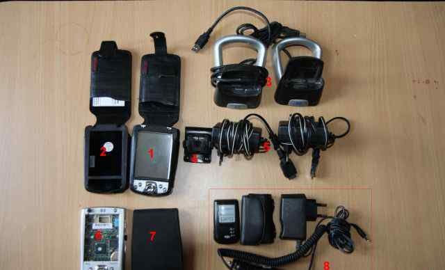 HP iPaq h2210 + GPS + Коплектующие. б/у