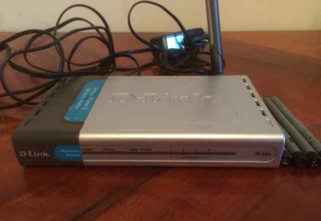 Wi-Fi роутер D-link DI-624