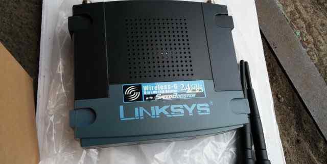 Wi-Fi роутер Linksys by Cisco WRT54GS