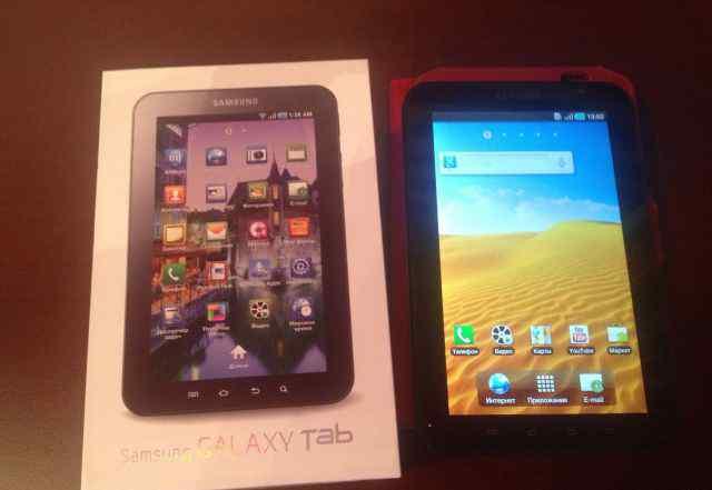 Samsung Galaxy Tab P1000 16Gb (полный комплект)