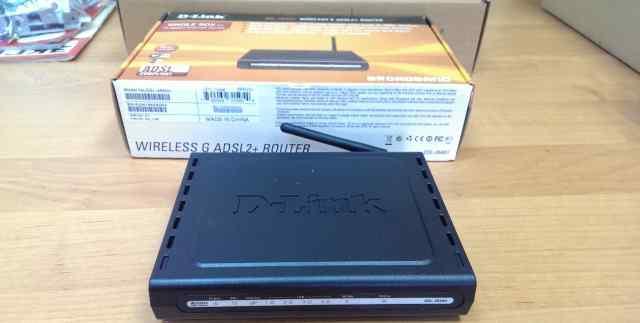 D-link DSL-2640U б/у