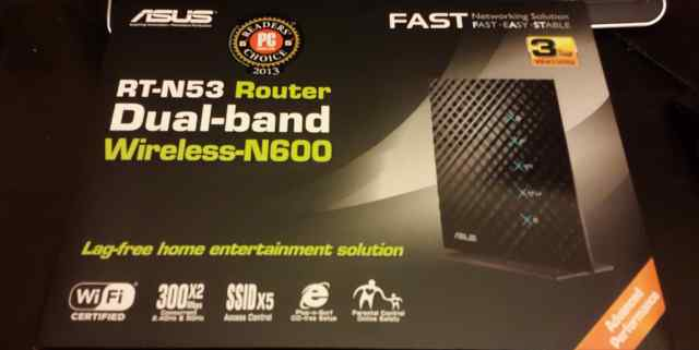 Роутер RT-N53 Dual-band Wireless-N600