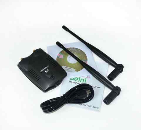 Мощный беспроводной WI-FI USB-адаптер BT-N9100