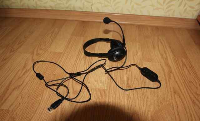 Наушники с микрофоном Ritmix