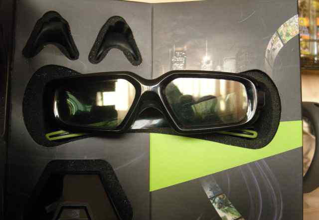 Очки 3D Vision