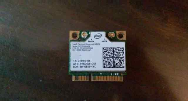 Wi-Fi адаптер для ноутбука intel 6230 (2.4 / 5 GHz