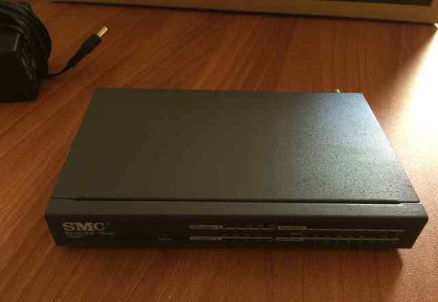 Комутатор SMC EtherEZ 3608T-EZ Hub