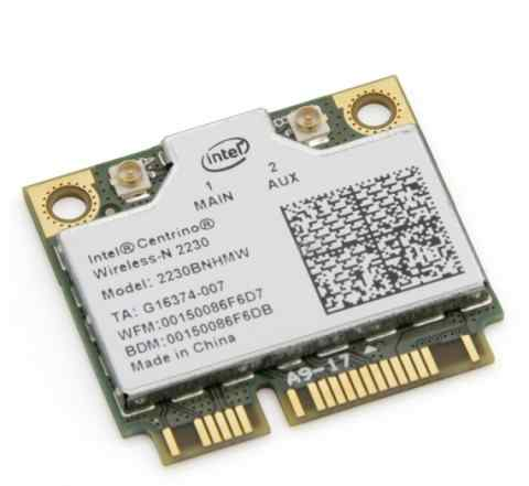 Сетевая карта Intel 2230bnhmw 300Mbit + Bt 4.0