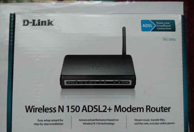 Adsl-модем D-Link DSL-2640U