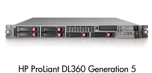 Сервер HP ProLiant DL360G5 1U
