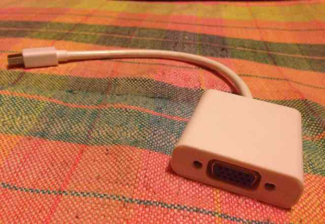 Адаптер Apple Minu Displayport на VGA