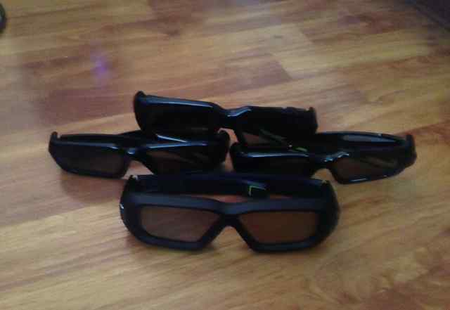 3D очки Nvidia