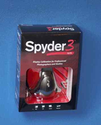 Новый калибратор монитор Datacolor Spyder 3 Elite
