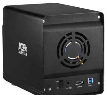 Внешний корпус для HDD agestar 3C4B3A1, черный