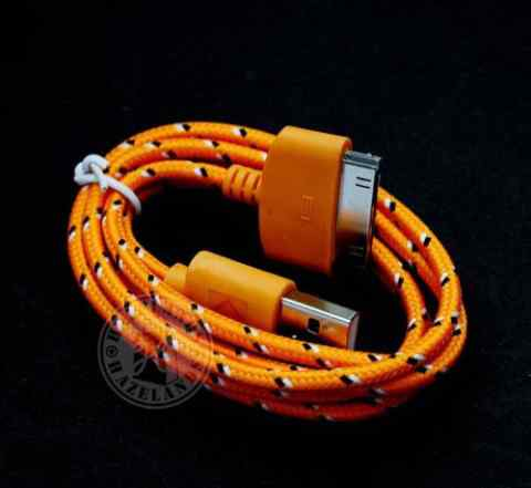 5 X прочные плетеные зарядное устройство USB данны