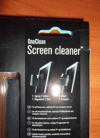 Чистящее средство для монитора и клавиатуры