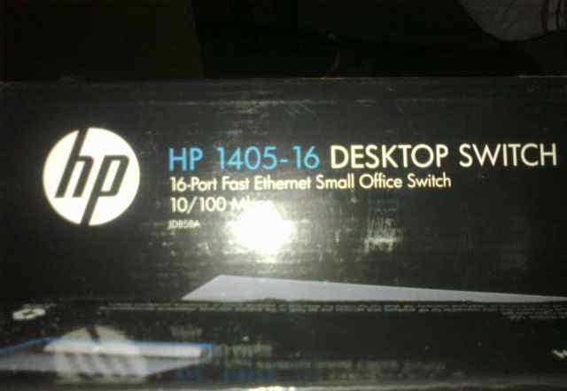 HP1405-16 Desktop Switch