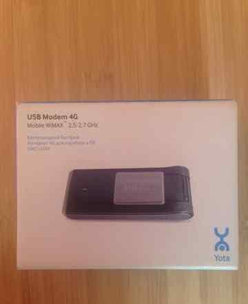 Yota USB modem 4G