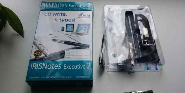 Цифровая ручка irisnotes Executive 2.0