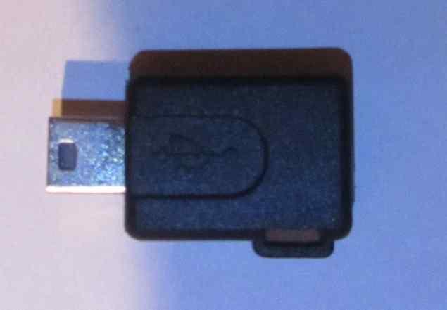 Переходник адаптер micro USB - mini USB кабель