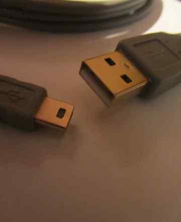 Кабель шнур mini USB 1.8м ферритовые кольца позоло
