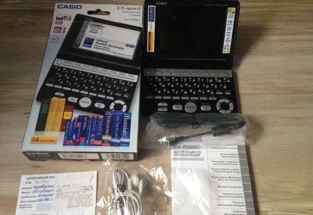 Электронный словарь casio EW-R3000C