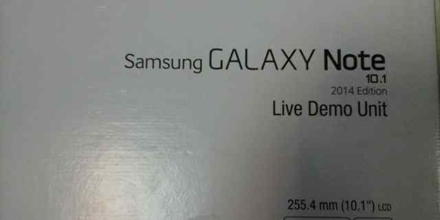sumsung galaxy note 10.1