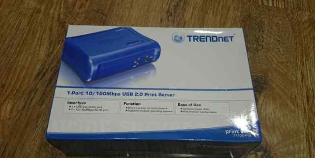 Принт сервер Trendnet TP100-1PU