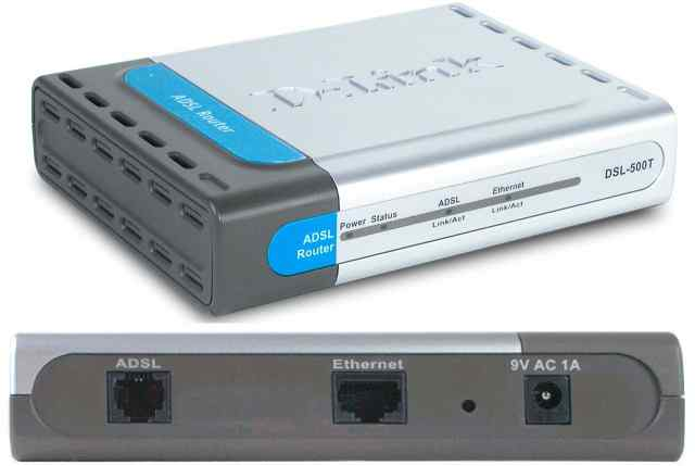 Модем маршрутизатор роутер D-Link DSL-500T