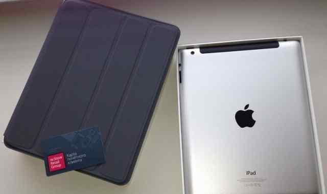 Apple iPad 4 64GB Wifi+ Cellular 4G Black (Черный)
