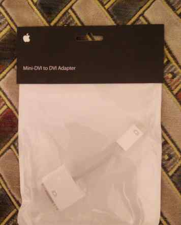 Адаптер Apple Mini DVI to DVI
