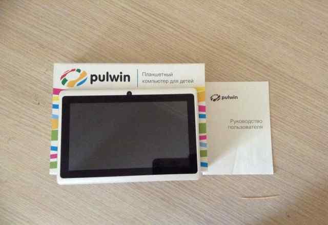Планшетный компьютер для детей Pulwin
