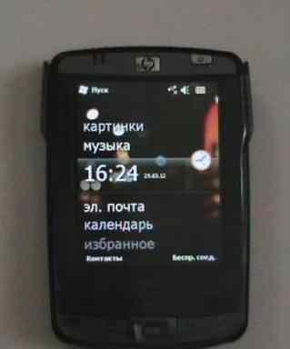 HP iPAQ hx2190b + GPS-модуль GlobalSat BC-337