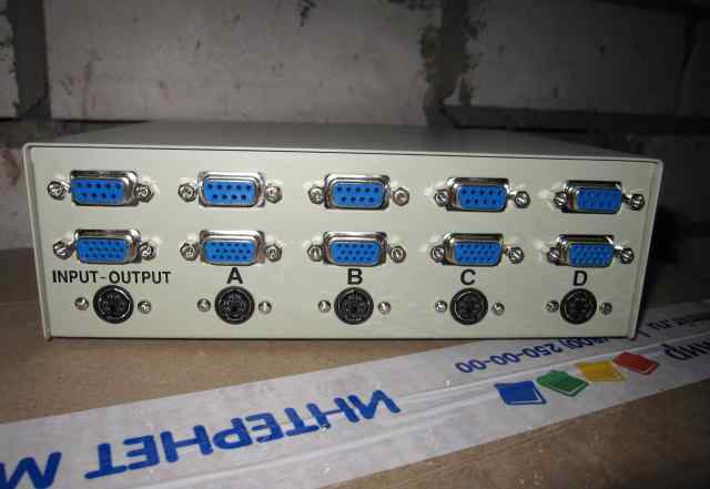 Data Transfer Switch 4 канала