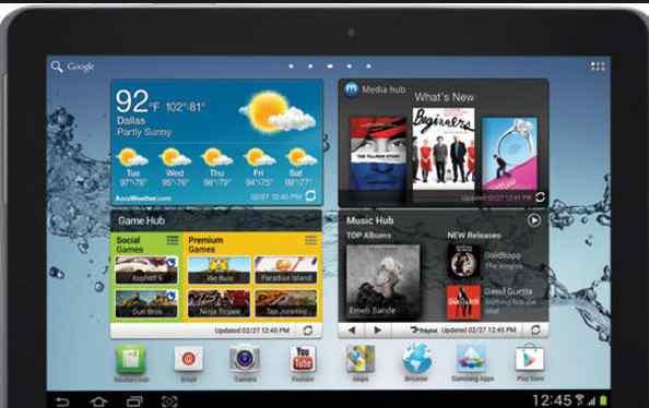 Планшет Samsung GP5100 (Galaxytab 2)